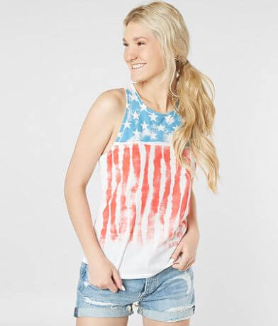Billabong Freedom Tie Dye Tank Top