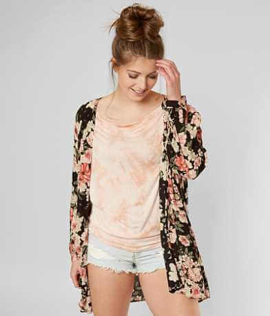 Billabong Saltwater Shore Floral Cardigan