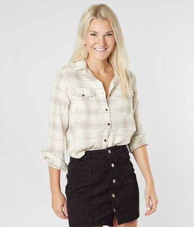 Billabong Venture Out Plaid Shirt
