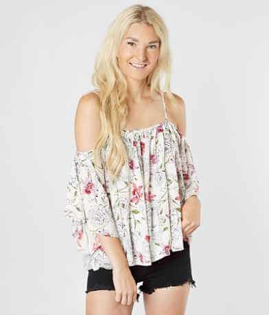 Billabong Forever Cold Shoulder Top