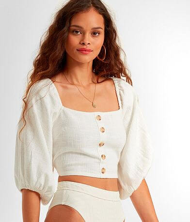 Billabong Back For More Cropped Top