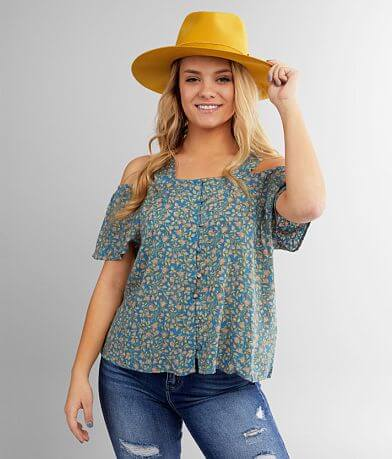 Billabong Summer Dream Cold Shoulder Top