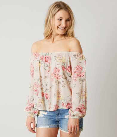 Billabong Mi Amore Cold Shoulder Top