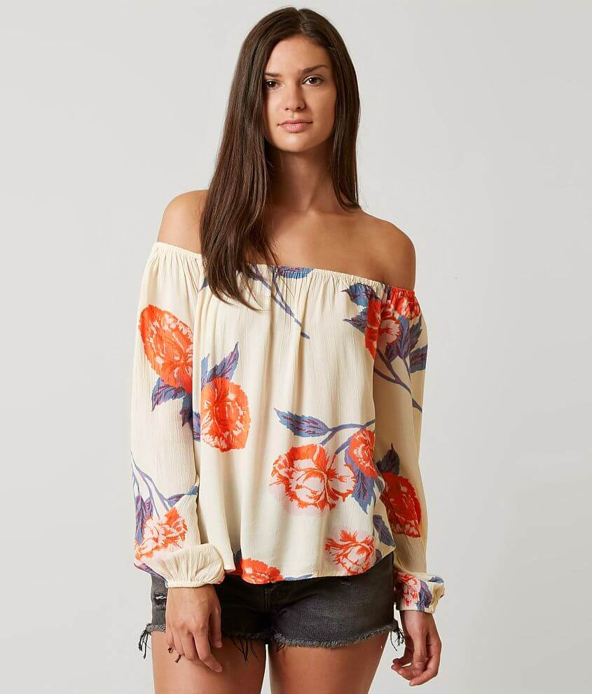 5a23db7d669 Billabong Mi Amore Off The Shoulder Top - Women's Shirts/Blouses in ...