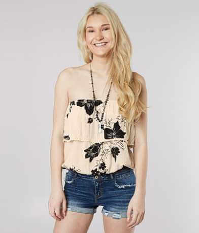 Billabong Sunny Dazer Cropped Tube Top