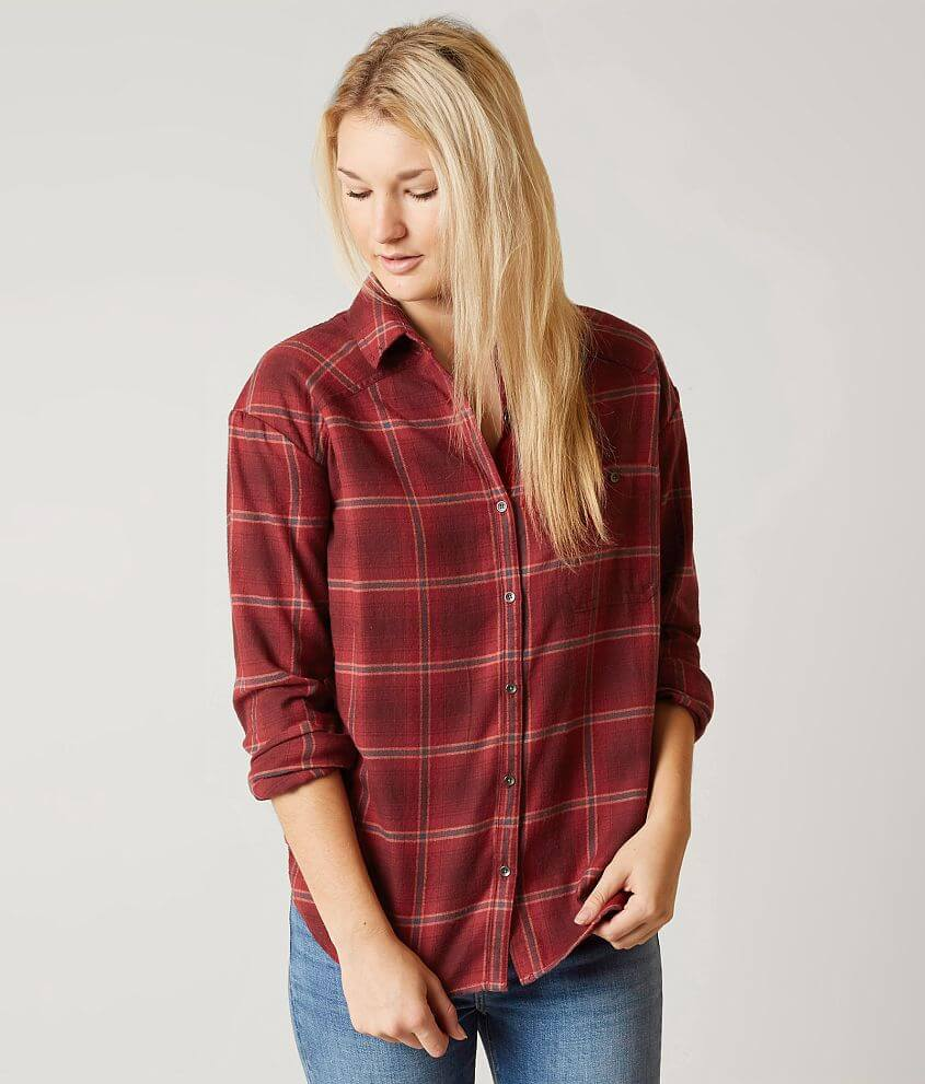 Style J507LWAN/Sku 523533 Button down plaid shirt Body length 28\\\