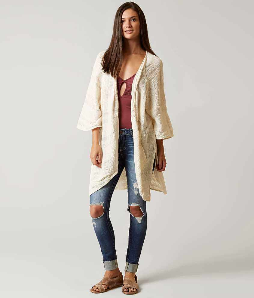 Billabong Only Light Cardigan Sweater - Women's Sweaters in White ...