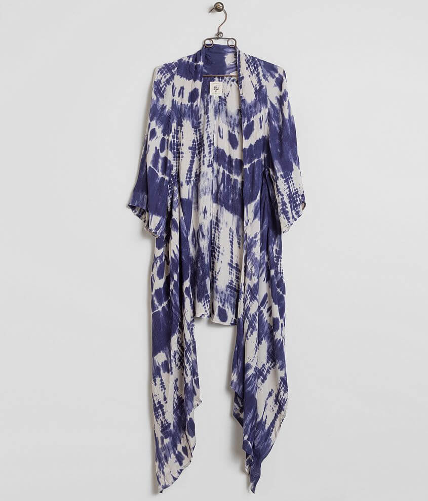 5c58e6965dde Billabong Always A Dreamer Cardigan - Women's Kimonos in Blue Cruz ...
