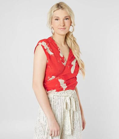 Billabong Flying High Cropped Top