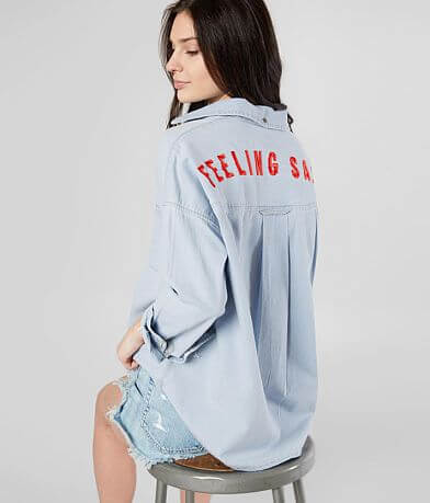 Billabong Feeling Salty Denim Shirt