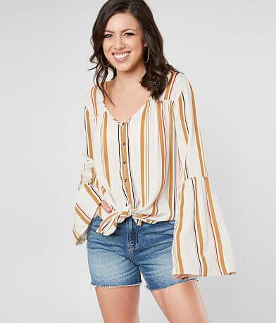 Billabong Dream Away Striped Top
