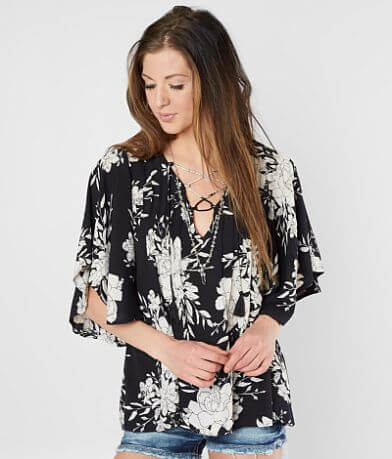 Billabong Ray Of Light Floral Top