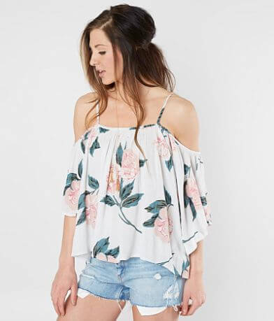 Billabong In Bloom Cold Shoulder Top