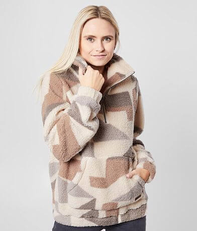 Billabong Cozy For Real Fleece Pullover