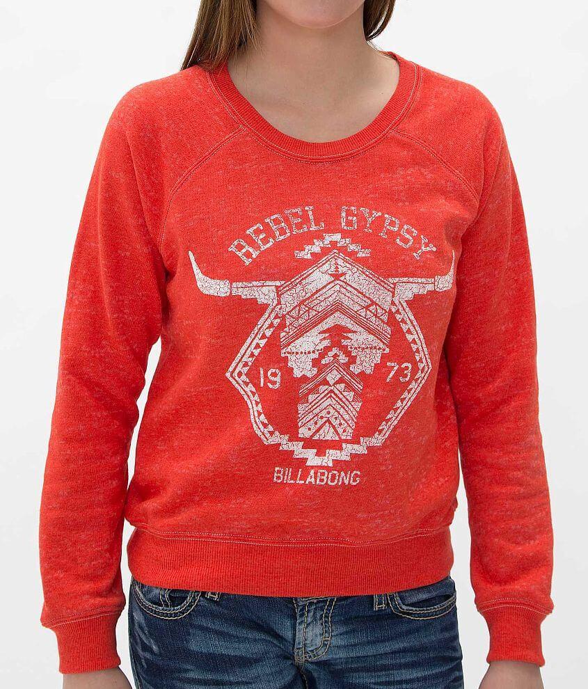 Billabong Rebel Gypsy Sweatshirt front view