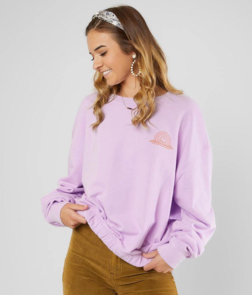 Billabong Keep Dreamin' Pullover Sweatshirt front view