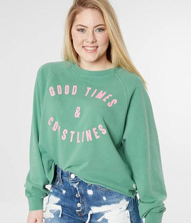 Billabong Good Times Cropped Sweatshirt