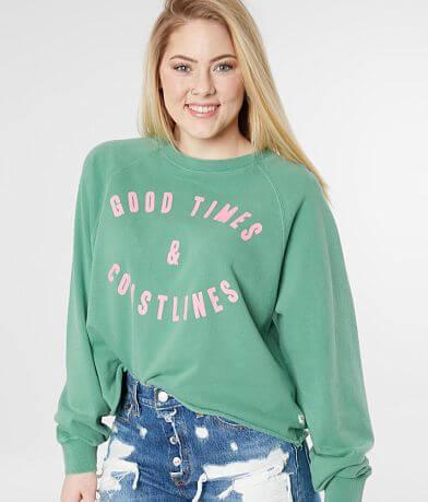 Billabong Good Times Cropped Sweatshirt