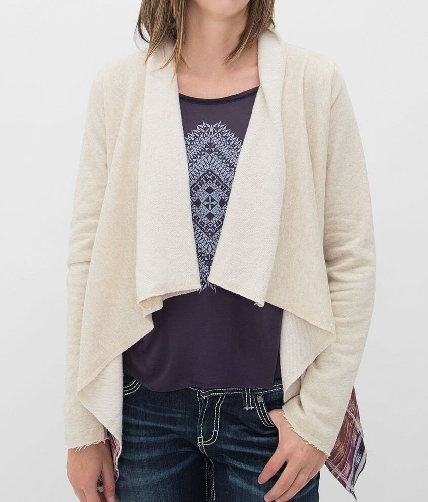Billabong Bright Above Cardigan Sweater front view