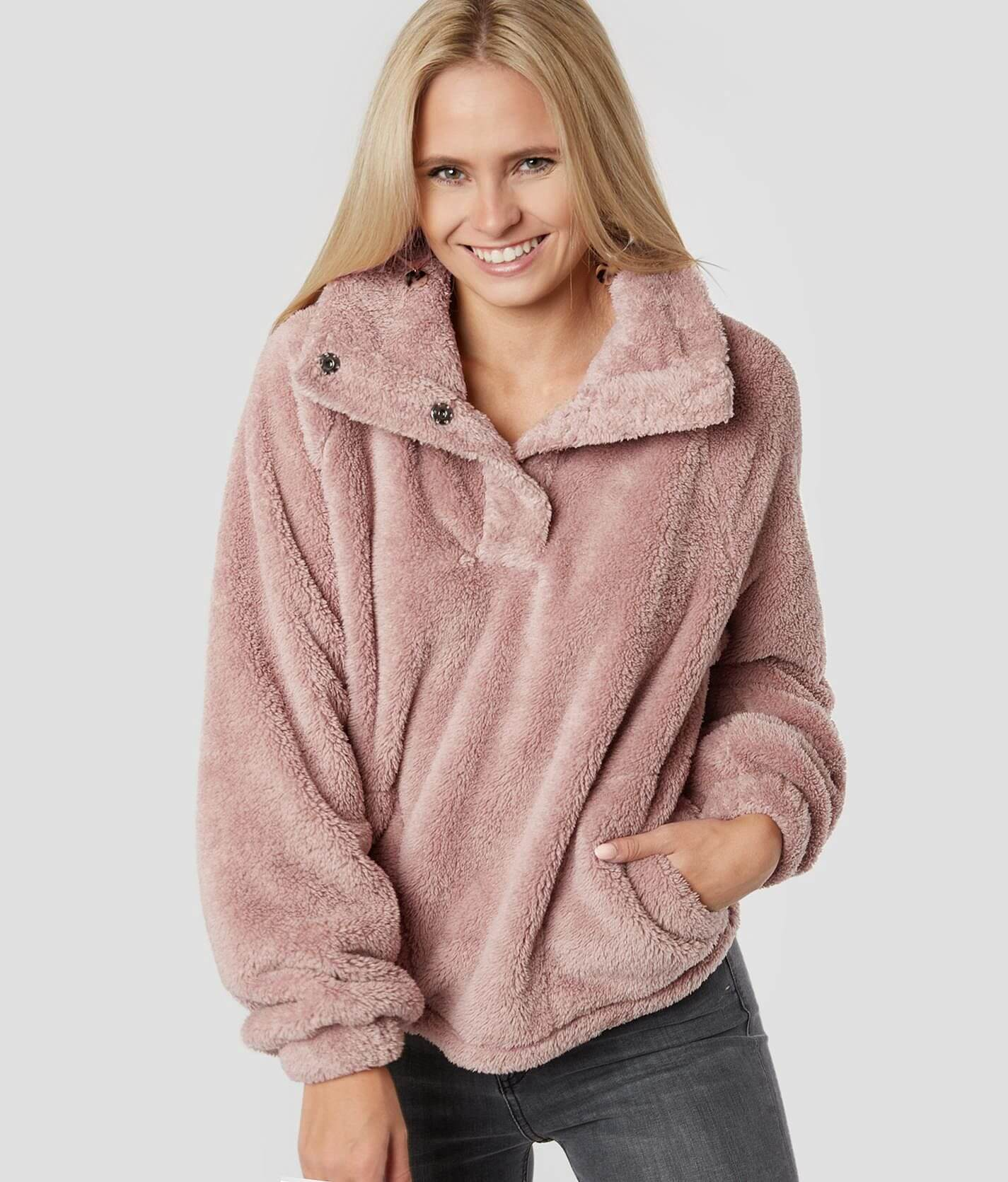 Warm Times Sherpa Pullover by Billabong