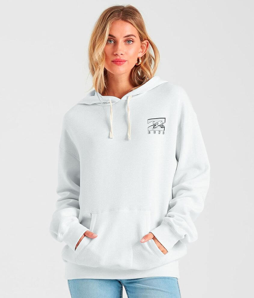 Billabong All The Feels Hooded Sweatshirt front view