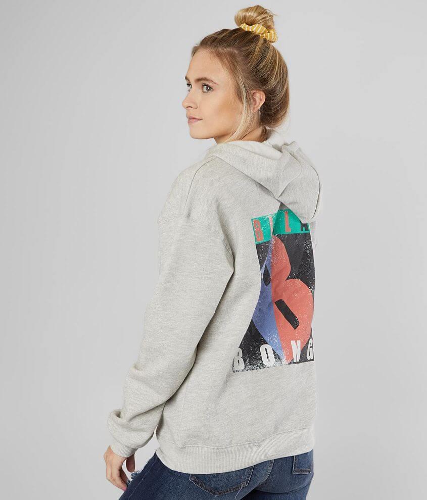 Billabong Color Block Logo Pullover Sweatshirt front view