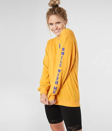 Billabong Summer Mckeen Smile With Me Sweatshirt