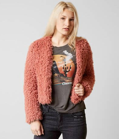 Billabong Faux Fur Keeps Jacket