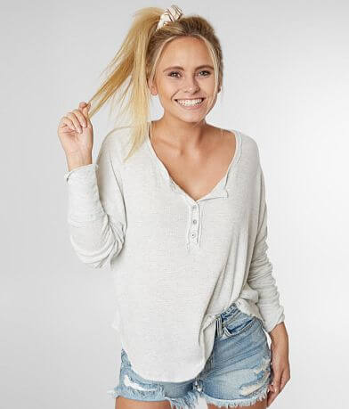 fa89748dea88e5 ... Light It Up Off The Shoulder Top. Billabong Thermal Henley Top