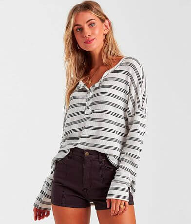 Billabong Any Day Thermal Henley Top