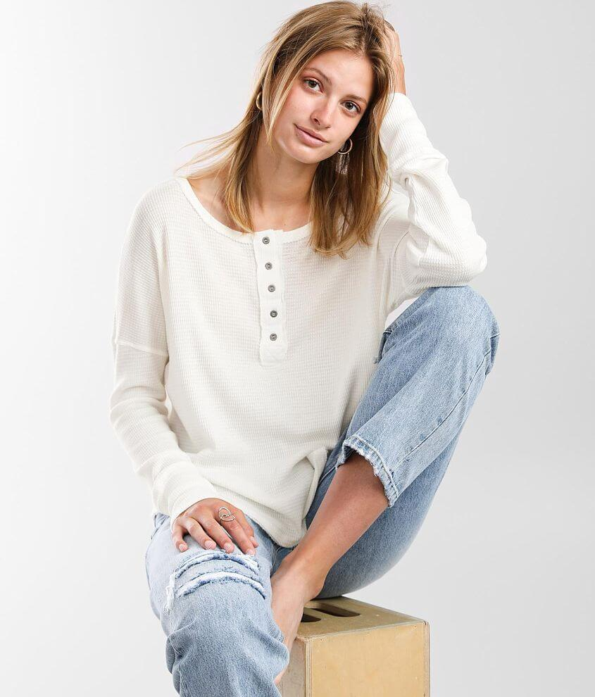 Billabong Any Day Thermal Henley front view
