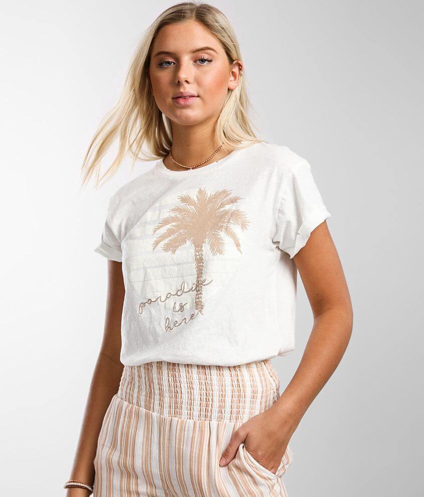 Billabong Palm Bliss T-Shirt front view