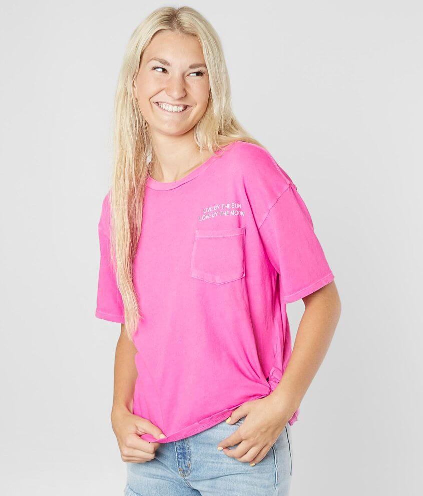 31211f2489e8a Billabong Leftside Right T-Shirt - Women's T-Shirts in Rebel Pink ...