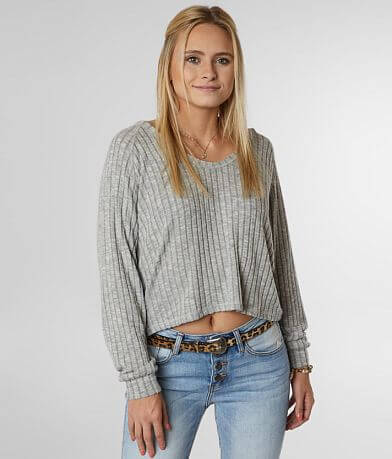 Billabong Cozy Up Cropped Hoodie