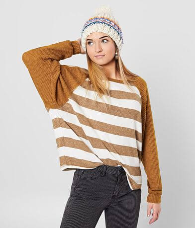 Billabong Head Start Striped Top