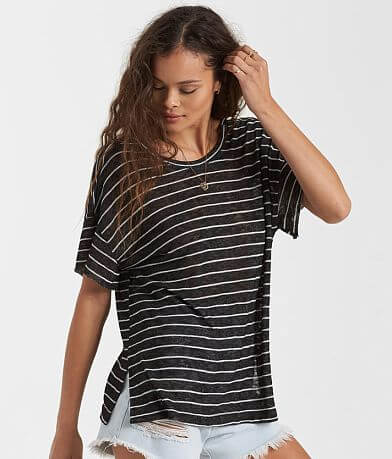 Billabong Seeking Surf Striped Top
