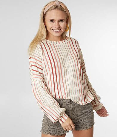 4ccae82649e0 Billabong Throw N Go Striped Top