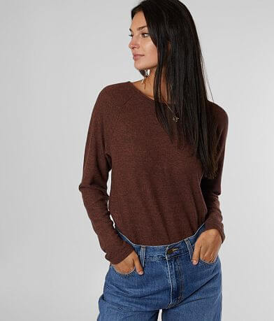 Billabong Quality Time Fleece Hacci Top