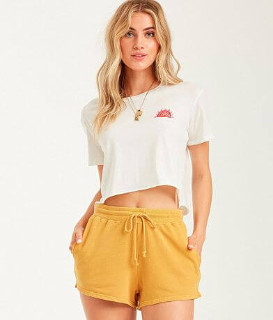 Billabong Suns Out Cropped T-Shirt