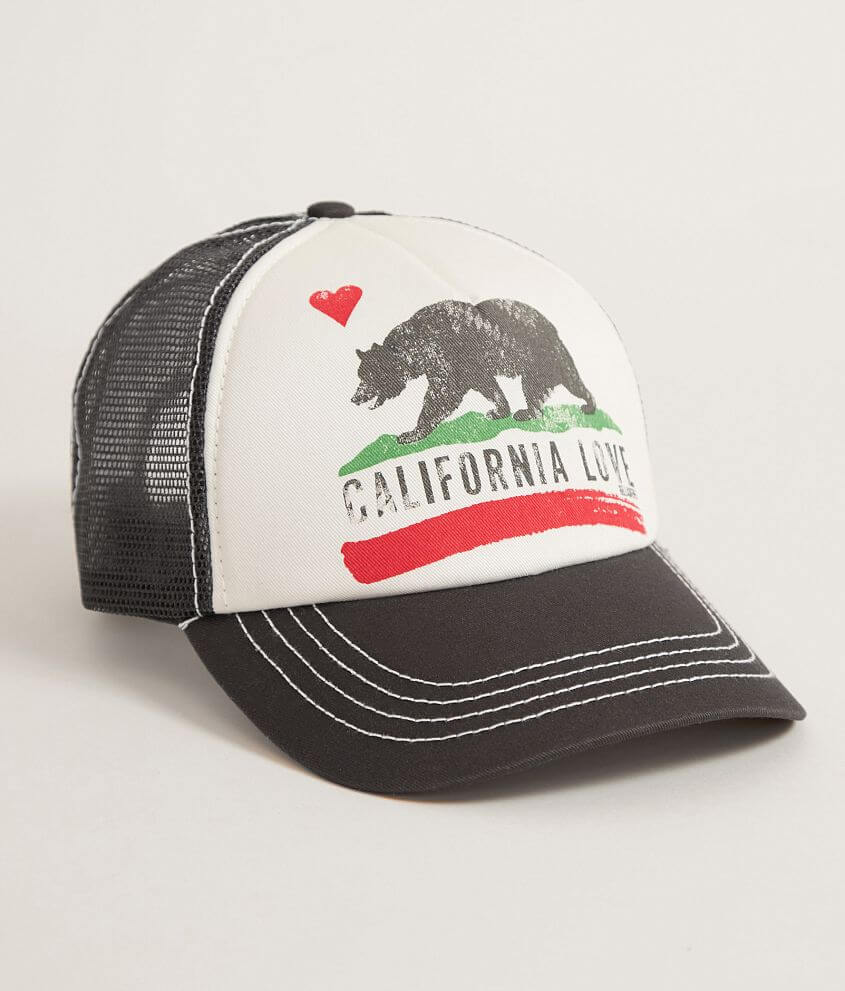 Billabong California Love Trucker Hat - Women s Hats in Charcoal ... bac5d4dabeb