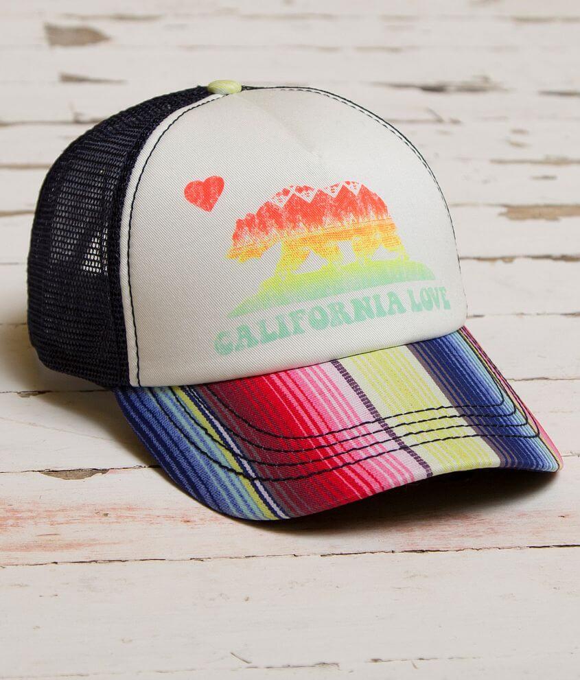 Billabong Cali Bear Trucker Hat front view