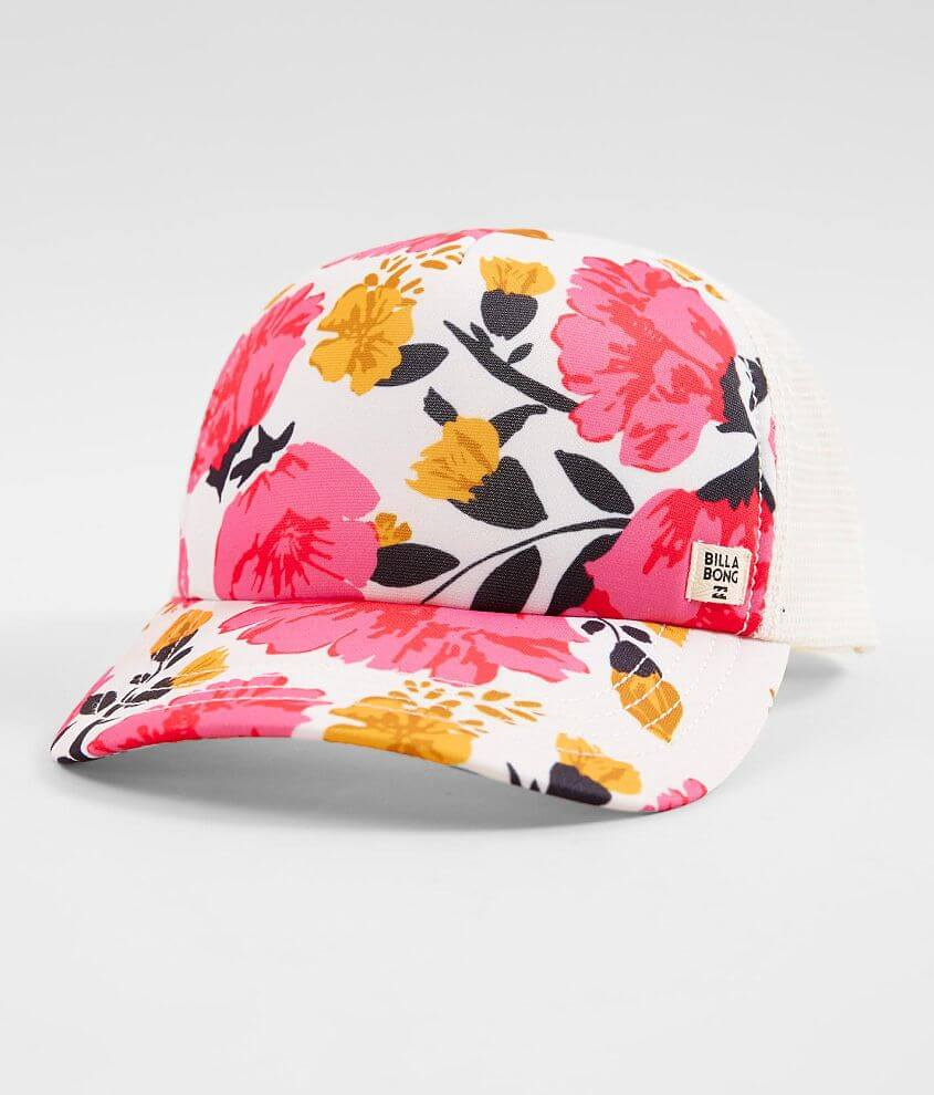 Printed snapback hat One size fits most