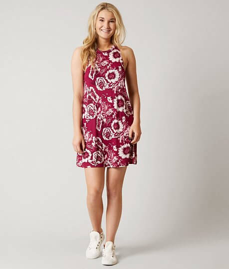 Dresses for Women - Short - Buckle