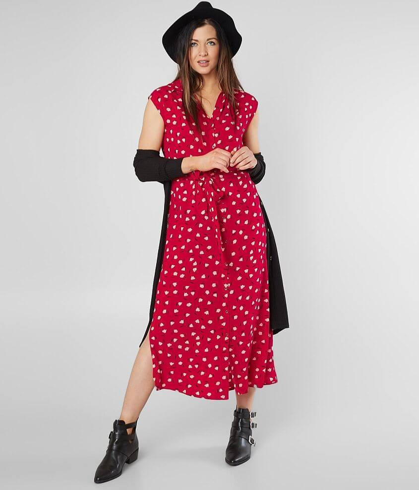 91e50beccd29 Billabong Little Flirt Maxi Dress - Women s Dresses in Havana Red ...