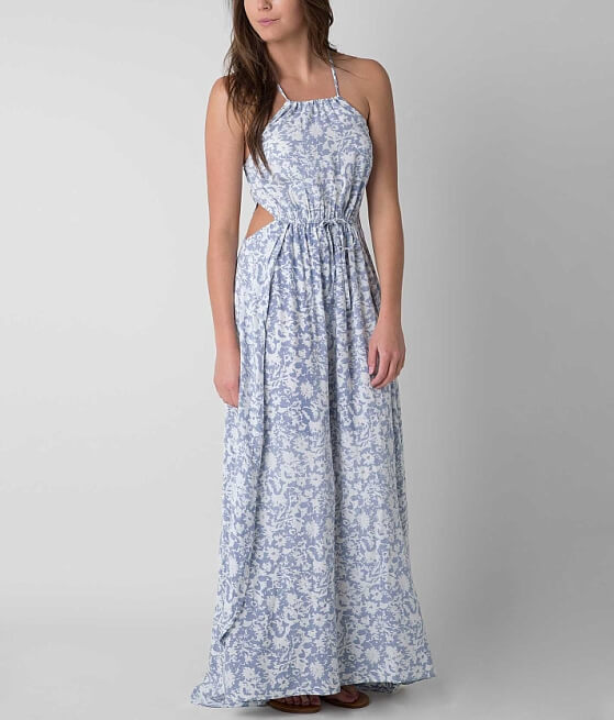 Billabong Sounds of The Sea Maxi Dress - Women&39s Dresses in Harbor ...