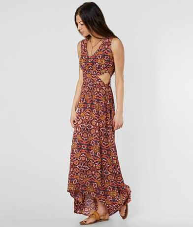 Billabong Worlds Collide Maxi Dress