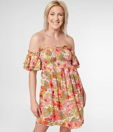 Billabong Dancing Floral Sun Dress