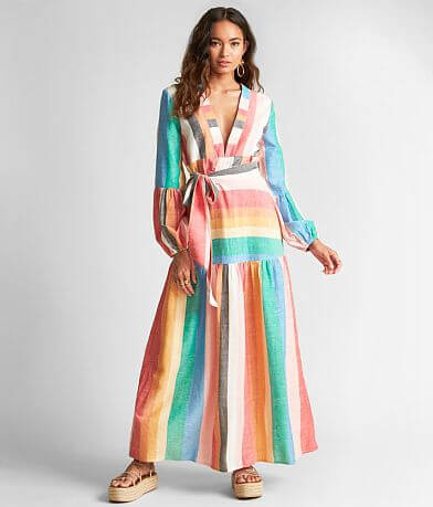 Billabong Sincerely Jules Mix It Up Maxi Dress