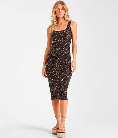 Billabong Share More Joy Midi Dress