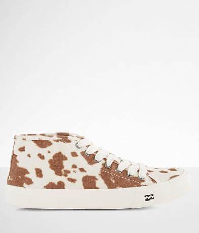 Billabong Parker Cow Print Sneaker